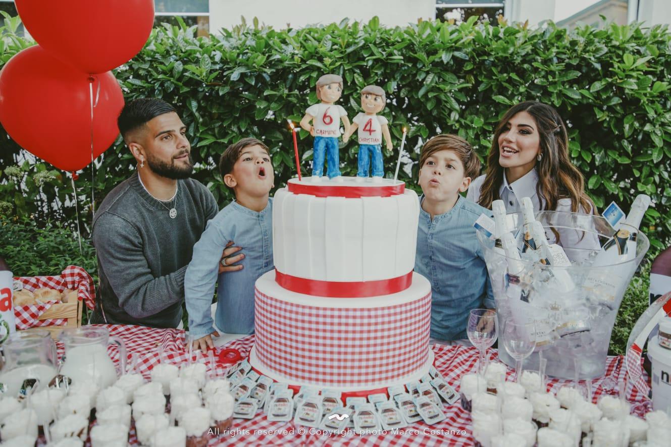 festa-figli-lorenzo-insigne-torta